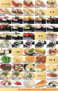 かっぱ寿司食べ放題メニュー2